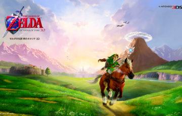 ゲームの歴史に残る最高傑作ゼルダの伝説時のオカリナ